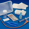 Covidien Indwelling Catheter Tray Dover™ IC 2-Way Foley 18 Fr. 5 cc Balloon Silver Coated Silicone MON 471166CS