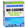Prodigy Diabetes Care No Coding Blood Glucose Test Strip Prodigy® 50 Test Strips per Box MON 868671BX
