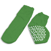 Hospital Apparel: Dynarex - Sock Slipper Green Medium