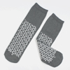 Public Safety Footwear: Dynarex - Double Sided Lightweight Slipper Socks, Grey, 2XL