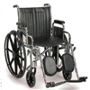 Sunrise Medical Wheelchair Breezy® EC 2000 Dual Axle Padded Removable Desk Arm Mag Black 20 Inch 300 lbs. MON 22074201