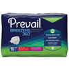 First Quality Prevail® Breezers 360° Ultimate Absorbency Winged Brief, Size 1, (26 to 48), 16/BG, 6BG/CS MON 22113100
