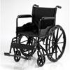 Merits Health Wheelchair Dual Axle Padded Fixed Height Full Arm Mag Black 16 250 lbs. (N211NMFZMU0) MON 771849EA