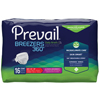 """prevail: First Quality - Prevail® Breezers 360° Ultimate Absorbency Winged Brief, Size 1, (26 to 48""""), 16/BG"""