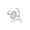 Carefusion NonRebreather Mask AirLife Under the Chin One Size Fits Most Adjustable Elastic Head Strap MON 22123900