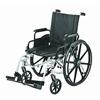 Merits Health Sequoia Ultra Strength Lightweight 20 Wheelchair, Dual Axles (L222-WMDIMU) MON 832430EA