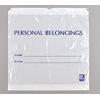 Elkay Plastics Personal Belongings Bag (PB20203DSW), 25/BX MON 1030698BX