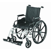Merits Health Sequoia Deluxe Ultra Strength Lightweight 18 Wheelchair, Tri-axles (L223-AMDIMU) MON 832432EA