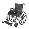 Merits Health Sequoia Deluxe Ultra Strength Lightweight 20 Wheelchair, Tri-axles (L223-WMDIMU) MON 832433EA