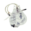 Standard Kits Packs Trays Incision Drainage: Amsino International - Urinary Drain Bag Anti-Reflux Valve 2000 mL