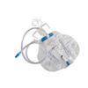 Cardinal Health Curity Urinary Drain Bag Mono-Flo Anti-Reflux Valve 2000 mL Vinyl MON 223617CS
