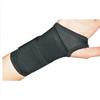 DJO Wrist Splint Cinch-Lock® Cotton-Elastic / Plastic Palmer Left Hand Black X-Large MON 22383000