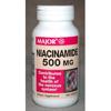 Major Pharmaceuticals Vitamin B Supplement Niacinam 500 mg Strength Tablet 100 per Bottle MON 22442700
