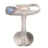 Applied Medical Technologies Balloon Button Gastrostomy Feeding Device Mini ONE 12 Fr. 2.5 cm Silicone Sterile MON 22514600