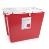 McKesson Sharps Container Prevent® 13.5H X 17.3W X 13L Inch 8 Gallon Red MON 22662800