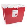 McKesson Sharps Container Prevent® 13.5H X 17.3W X 13L Inch 8 Gallon Red MON 854428EA