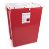 McKesson Sharps Container Prevent® 20.8H X 17.3W X 13L Inch 12 Gallon Red MON 22672800