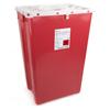 McKesson Sharps Container Prevent® 24.68H X 17.3W X 13L Inch 18 Gallon Red MON 22682800