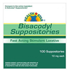 McKesson Bisacodyl Laxative Suppositories 10Mg 100Ct Compare To Dulcolax MON 23012700