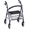 Nova Ortho-Med Heavy Duty Rolling Walker Adjustable Height Mack 400 lbs. MON 23073800