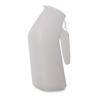 McKesson Male Urinal 32 oz. / 946 mL With Cover Single Patient Use, 6 EA/CS MON 23202900