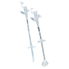 Applied Medical Technologies Balloon Gastrostomy Feeding Tube AMT 24 Fr. Silicone Sterile MON 24104600