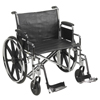 McKesson Wheelchair (146-STD24ECDDA-SF) MON 24334201