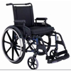 Merits Health Wheelchair Lightweight, Dual Axle Aluminum AlloyFlip-Up Desk Arm with Padded Armrests Mag 18 250 lbs. MON 24424200