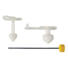 Applied Medical Technologies Balloon Gastrostomy Feeding Tube AMT 24 Fr. 5.4 cm Silicone Sterile MON 24544600