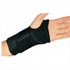 DJO Wrist Splint Cinch-Lock® Neoprene Left Hand Black One Size Fits Most MON 24713000