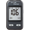 Acon Labs Blood Glucose Meter Kit On Call® Express 4 Seconds Stores Up To 300 Results No coding, 4/BX, 6BX/CS MON 962516CS