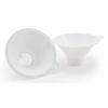 McKesson Calculi Strainer Medi-Pak™ Mesh Screen, Built-in Tab, White Plastic, Disposable All 24 Hour Specimen Collectors, 25EA/BG MON 25461900