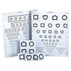 Good-Lite Distance Visual Eye Chart Lea Symbols 10 Foot 15-Line / Pediatric, 1/ EA MON 652208EA