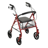 McKesson 4 Wheel Rollator (146-10257RD-1) MON 25713801