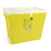 McKesson Sharps Container Prevent® 13.5H X 17.3W X 13L Inch 8 Gallon Yellow - Chemo MON 25822800