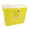 McKesson Sharps Container Prevent® 13.5H X 17.3W X 13L Inch 8 Gallon Yellow - Chemo MON 854427CS