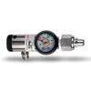 Allied Healthcare Oxygen Pressure Regulator Dial-In Click-Style 0 - 15 LPM MON 26003900