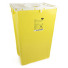 McKesson Sharps Container Prevent® 24.68H X 17.3W X 13L Inch 18 Gallon Yellow - Chemo MON 26022801
