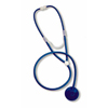 Mabis Healthcare Disposable Stethoscope Dispos-A-Scope Blue 1-Tube 30 Tube Single Sided Chestpiece - Diaphragm Only MON 26052500