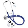 Omron Healthcare Sprague - Rappaport Binaural Stethoscope Dark Blue 2-Tube Dual Head MON 26292500
