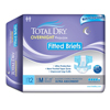 Secure Personal Care Products Adult Incontinent Brief Total Dry Tab Closure Medium Disposable Heavy Absorbency, 12/BG MON 26723100