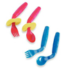 Patterson Medical EasieEaters™ Curved Utensil Set, MON 575550EA