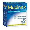 Reckitt Benckiser Cough Relief Mucinex 600 mg Strength Tablet 20 per Box MON 26972700