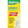 Glaxo Smith Kline Earwax Removal Aid Debrox 0.5 oz. Drops 6.5% Strength Carbamide Peroxide MON 27242700