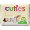 First Quality Cuties Complete Care Diapers (CCC02), 40/BG MON 1102729BG