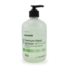 soaps and hand sanitizers: McKesson - Premium Hand Sanitizer with Aloe- 18 oz. Ethanol Pump Bottle