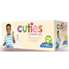 First Quality Cuties Complete Care Diaper (CCC17), 80/CS MON 1102742CS