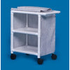 Innovative Products Multi-Purpose Cart 31 x 37 x 20 2 Shelves Wineberry MON 27503401