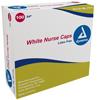 Dynarex O.R. Nurses Cap White Elastic Headband MON 28211105