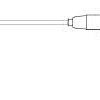 Becton Dickinson Probe, Rectal Rectal, Red, Short Cord, Nonsterile, Reusable Temp Plus II Thermometer Model 2080 and Uses P-850A Probe Covers MON 501136EA